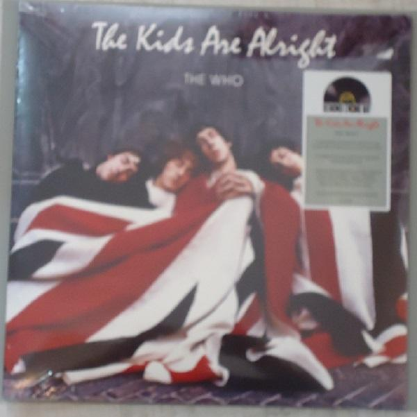 "2LP THE WHO ""THE KIDS ARE ALLRIGHT"" RED & BLUE VINYL"