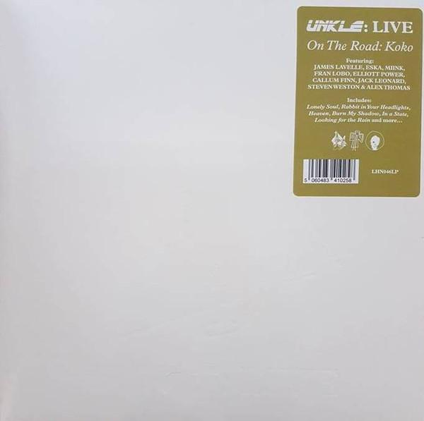 "3LP UNKLE: LIVE ""LIVE - ON THE ROAD: KOKO"""