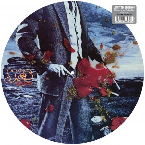 "Rhino PICTURE DISC  LP YES ""TORMATO"""