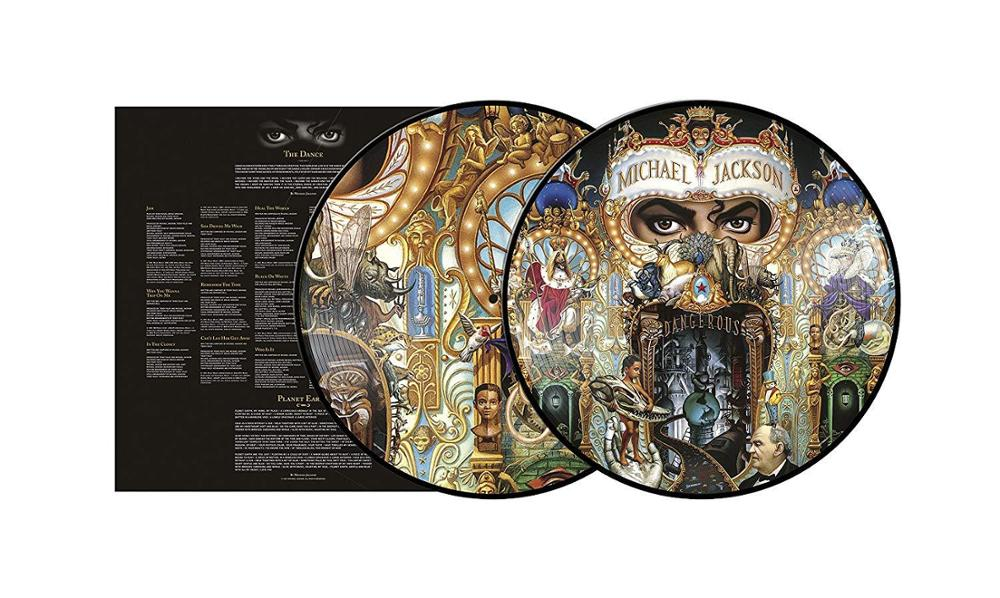 "Sony Music Picture disc Michael Jackson ""Dangerous"""