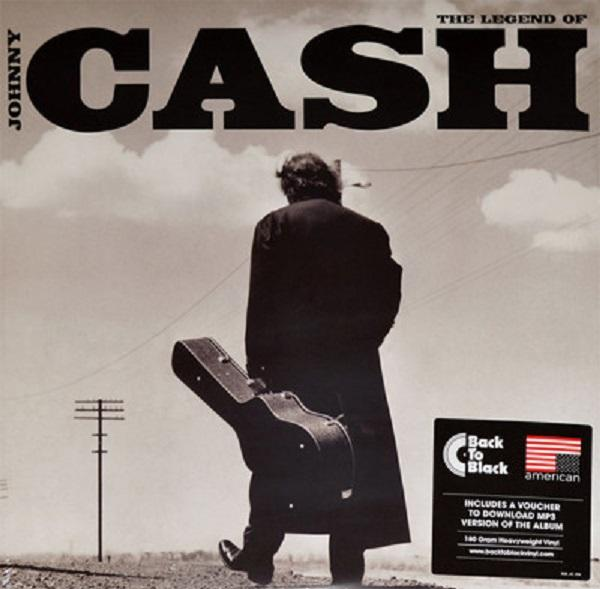 LP Johnny Cash ‎– The Legend Of Johnny Cash 2LP