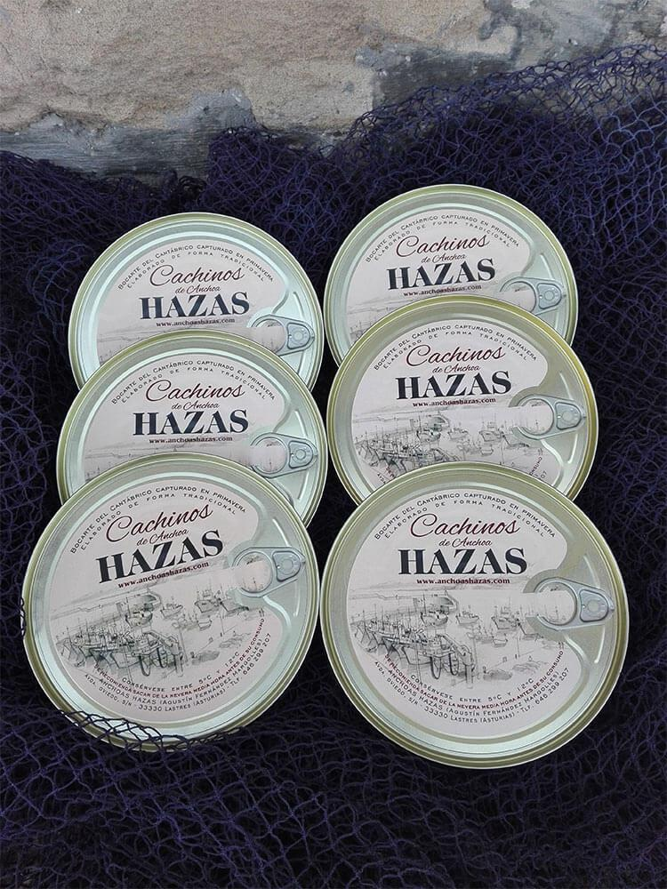 Pack Cachinos | Anchoas Hazas