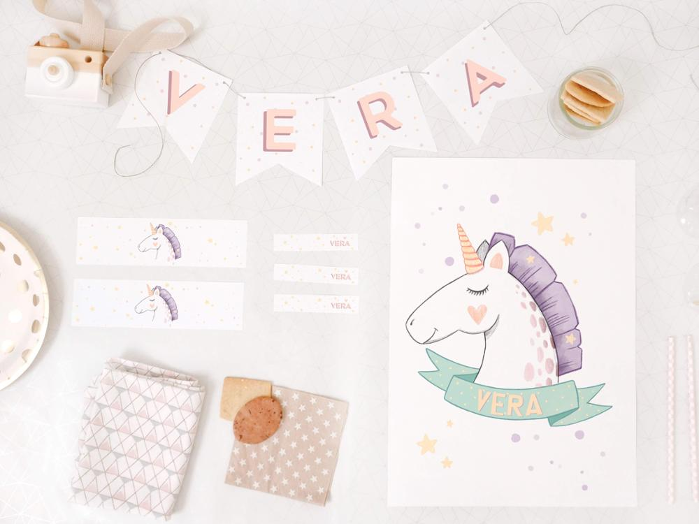 Pack cumple - Unicornio | Cuquina