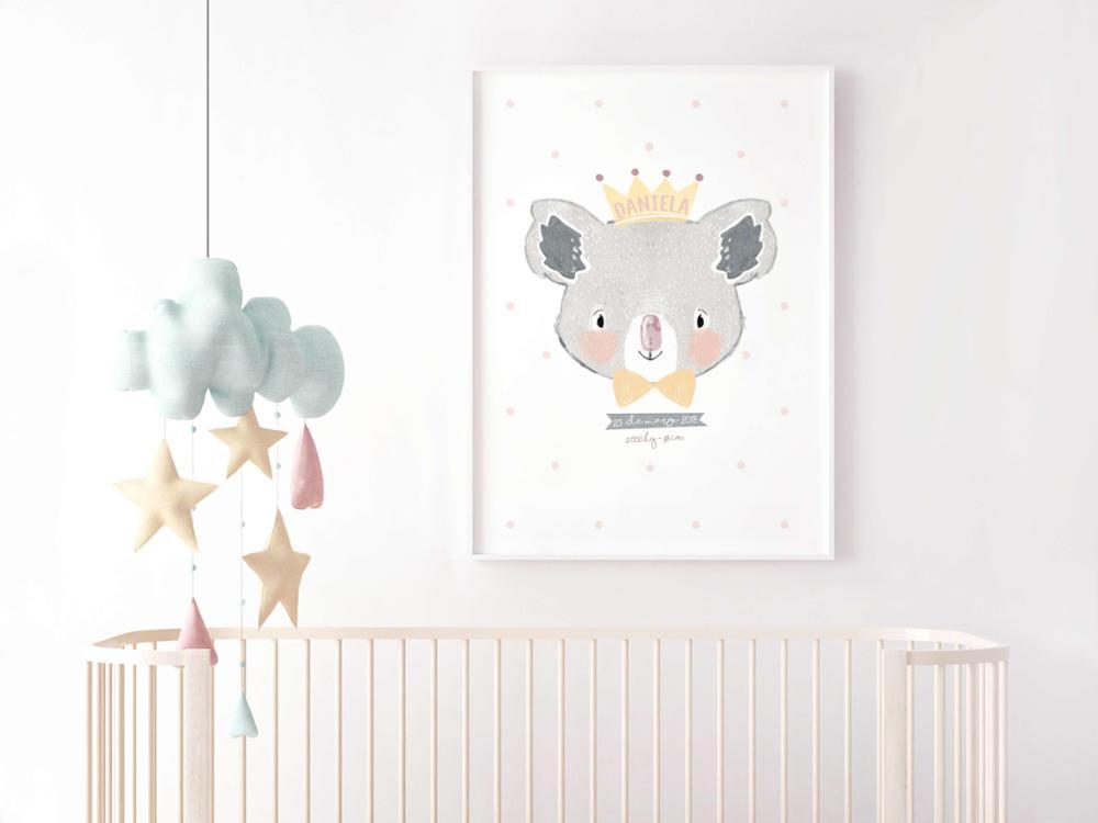 Lámina Nacimiento Koala