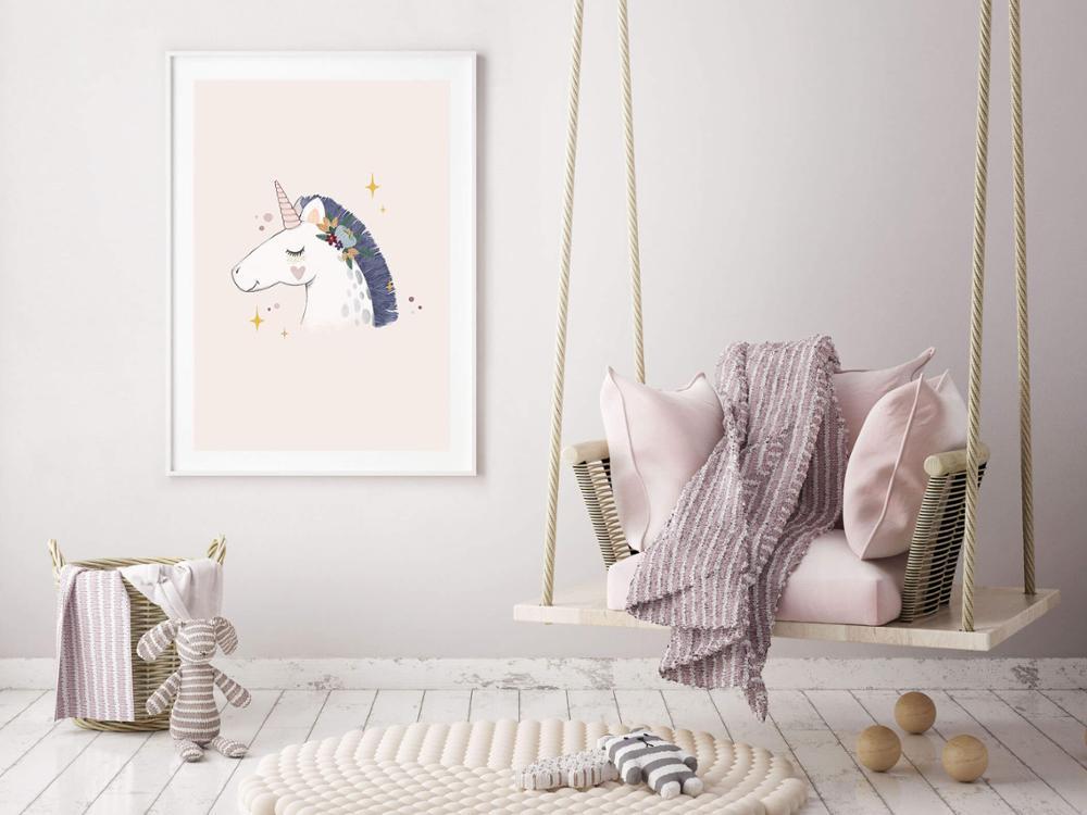 Lámina Unicornio Vintage