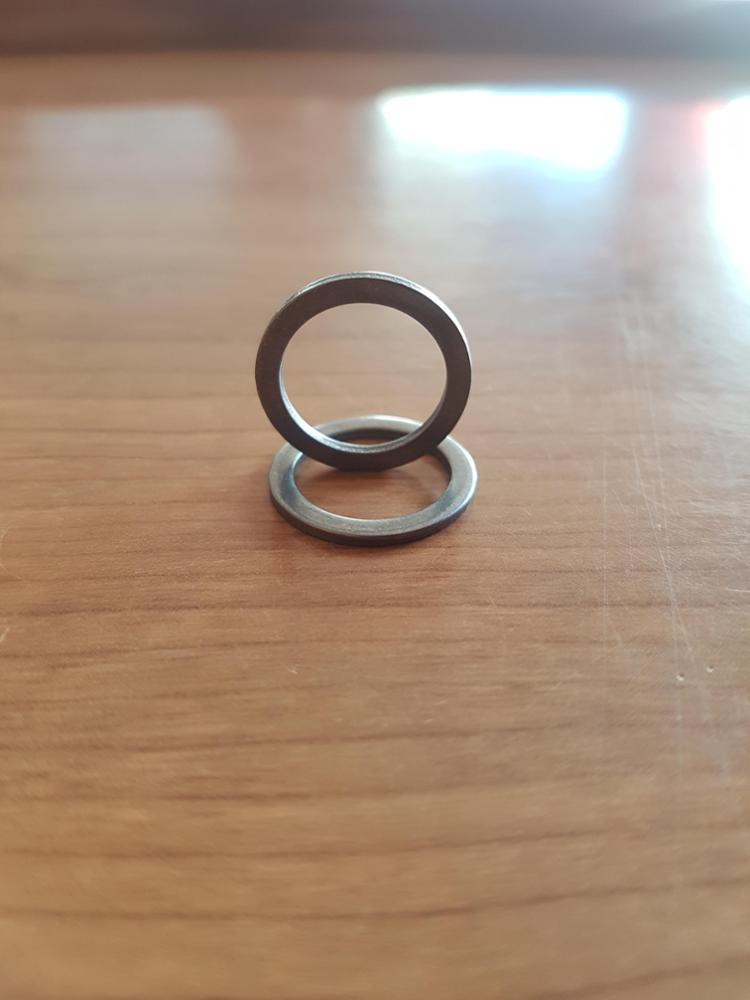 BIKEFIT Spacers 1.5 mm stainless steel,