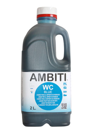 AMBITI BLUE WC QUÍMICO 2 LITROS