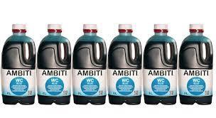 AMBITI CAJA  6un. x 2 BLUE LITROS  ref.122