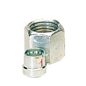 CASQUILLO BICONO OLIVA + ROSCA GAS 8 mm GOK