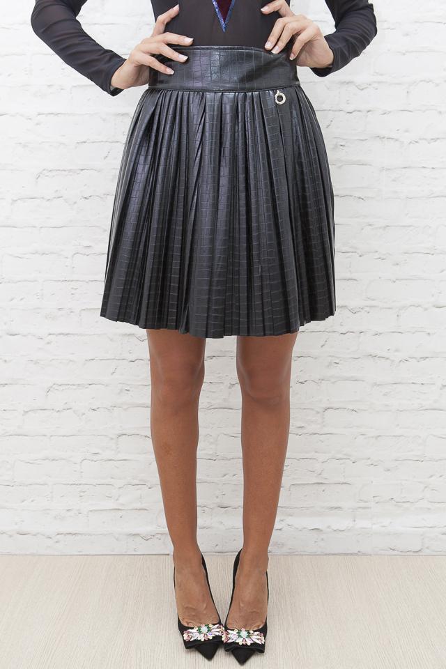 Novedad Falda negra coco
