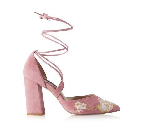 Novedad Salón floral rosa