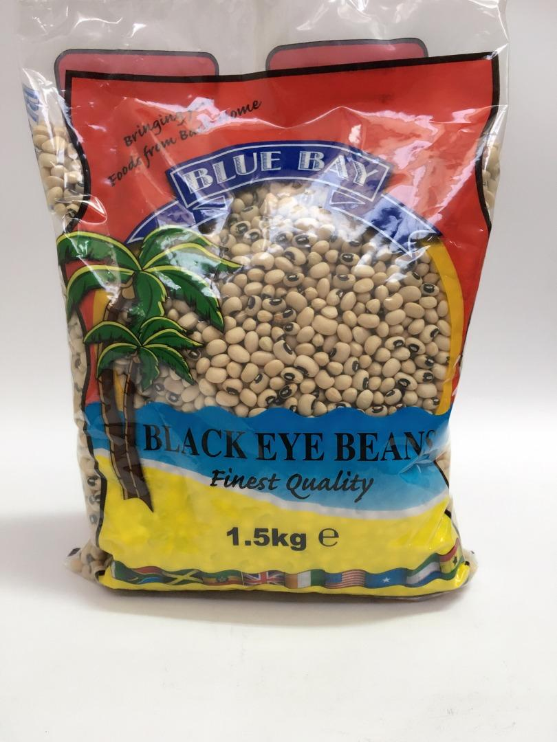 BLUE BAY BLACK EYE BEANS 1,5 K
