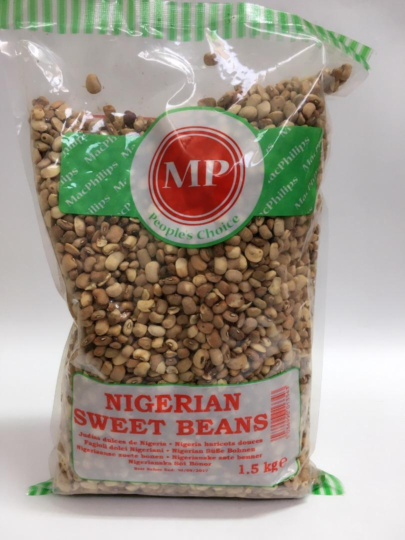 MP NIGERIAN SWEET BEANS 1,5 K