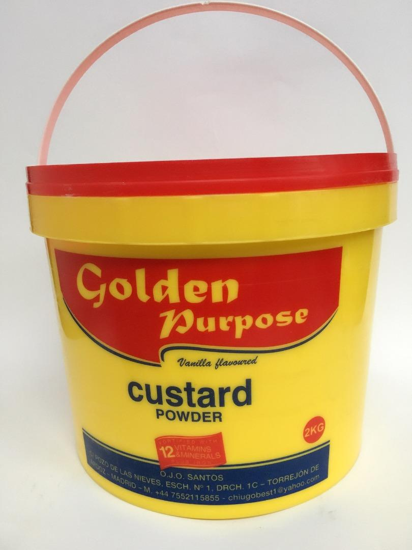 GOLDEN CUSTARD POWDER 2 K (OFERTA)