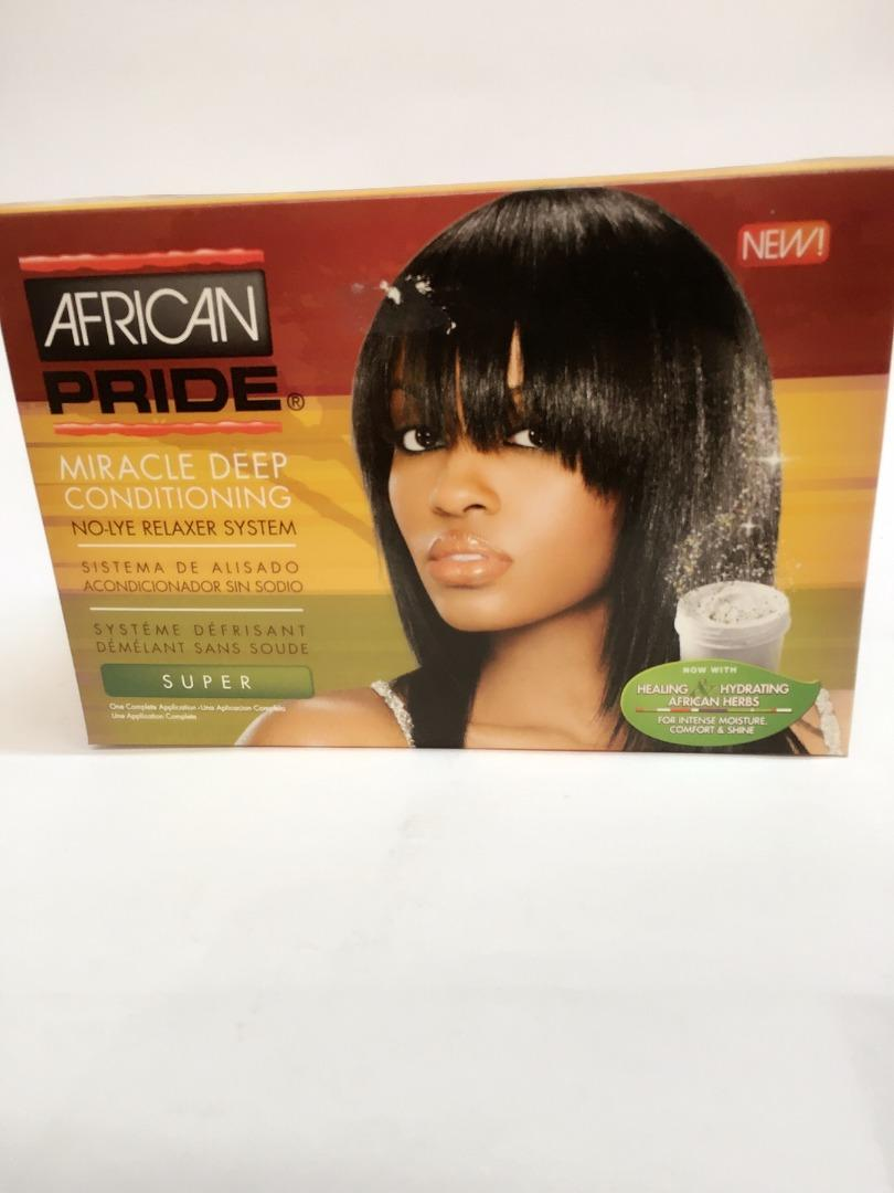 AFRICAN PRIDE RELAXER KIT SUPER