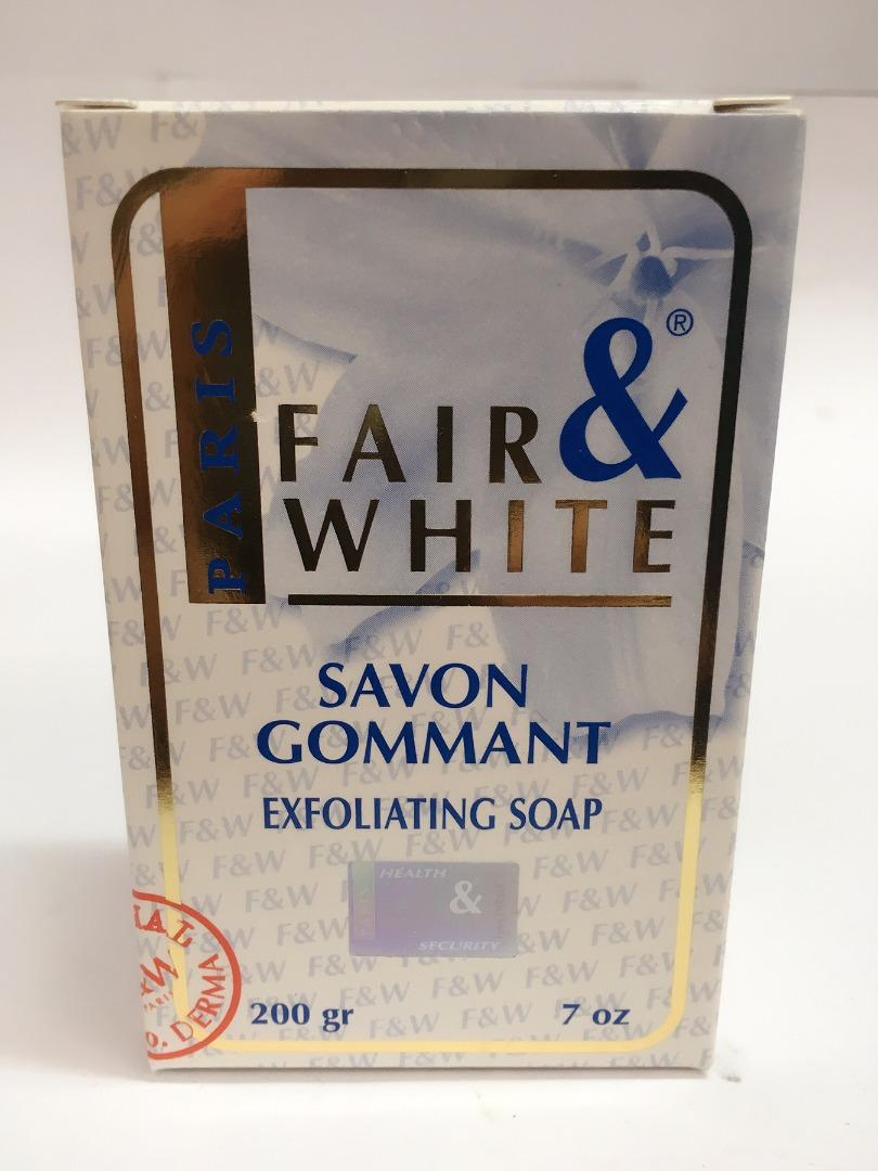 FAIR & WHITE EXFOLIATING SOAP 200GR
