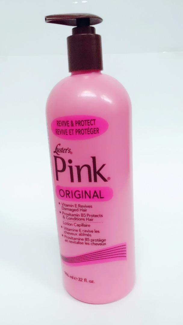 LUSTER´S PINK OIL HAIR LOTION 32 OZ