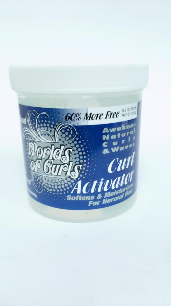 WORLD OF CURLS GEL ACTIVATOR REG. 16 OZ