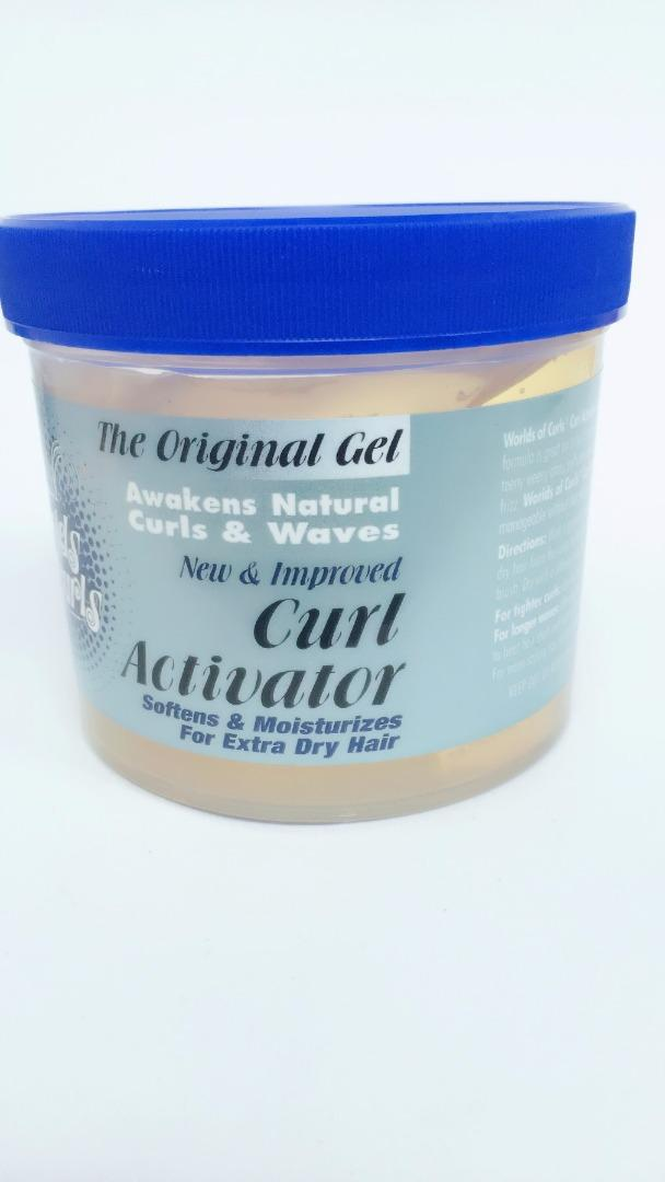 WORLD OF CURLS GEL ACTIVATOR DRY  32 OZ