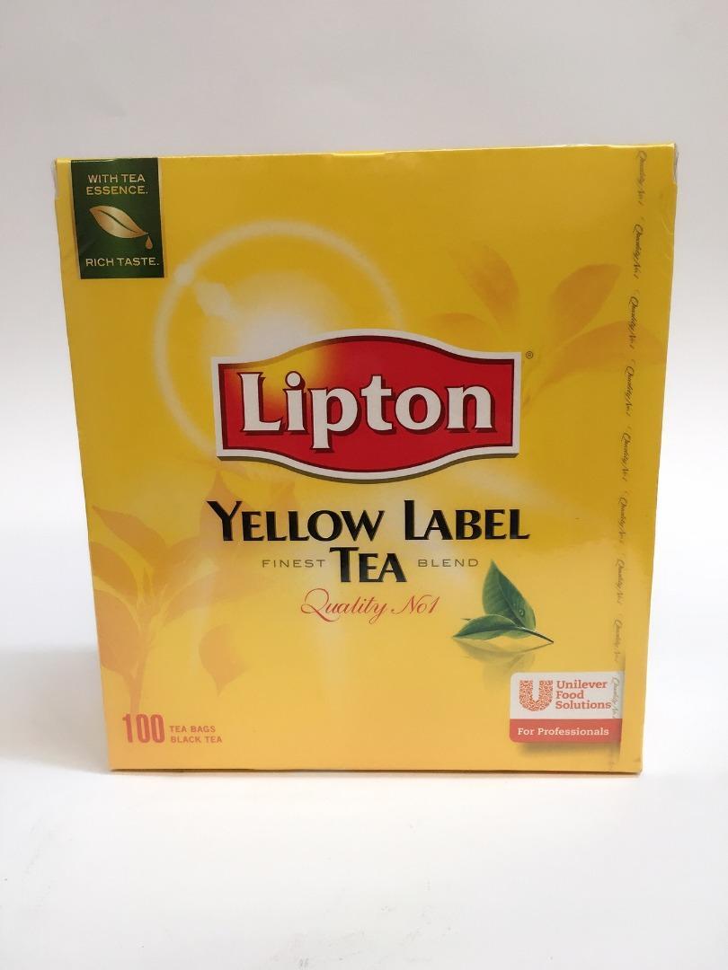 LIPTON TEA 150GR (100 U.)