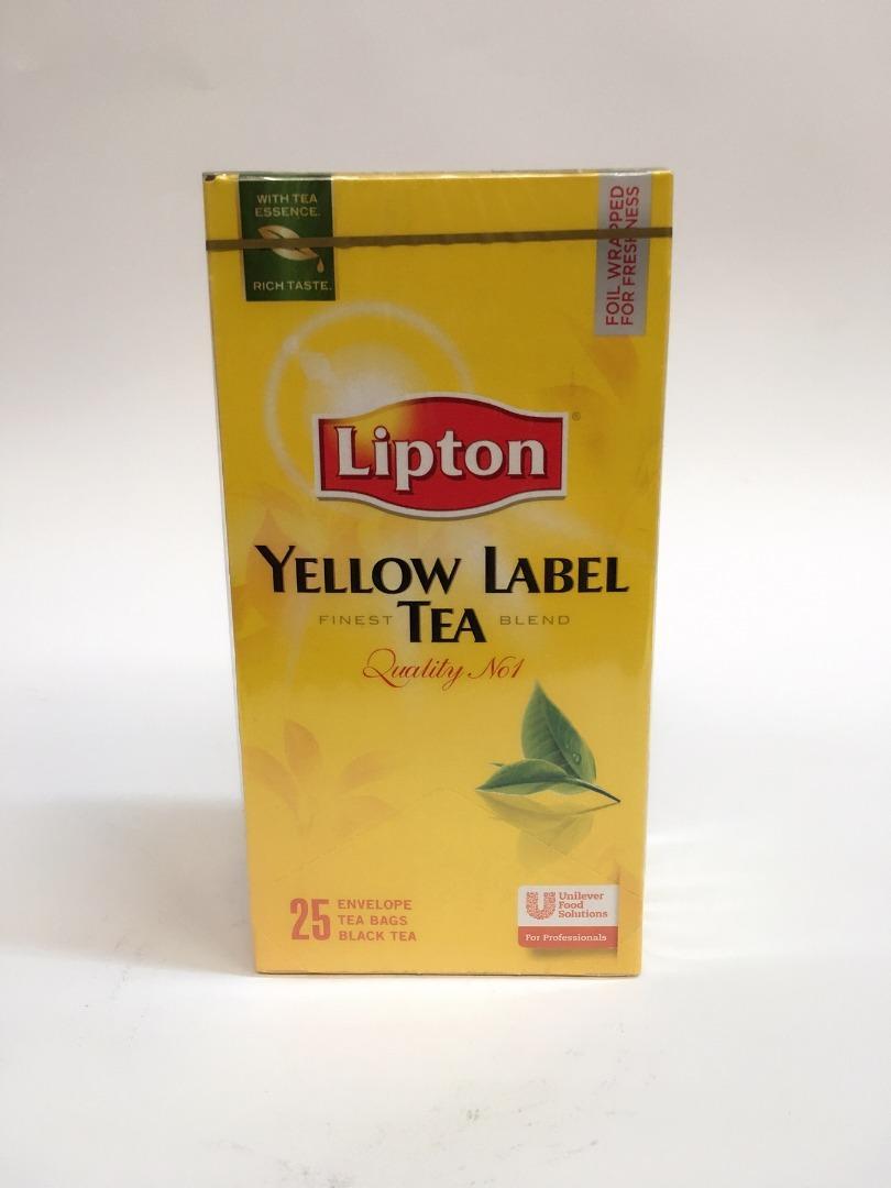 LIPTON TEA  37.5 GR ( 25 U.)