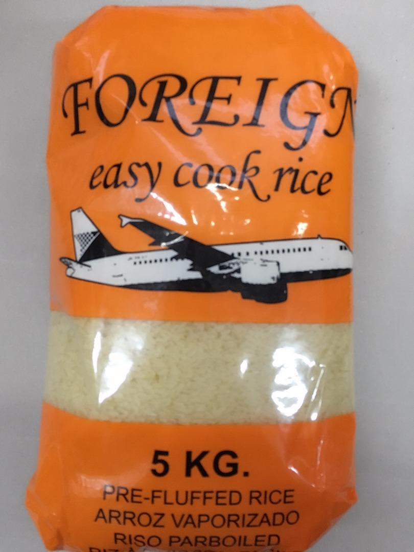 FOREIGN EASY COOK RICE 5 K