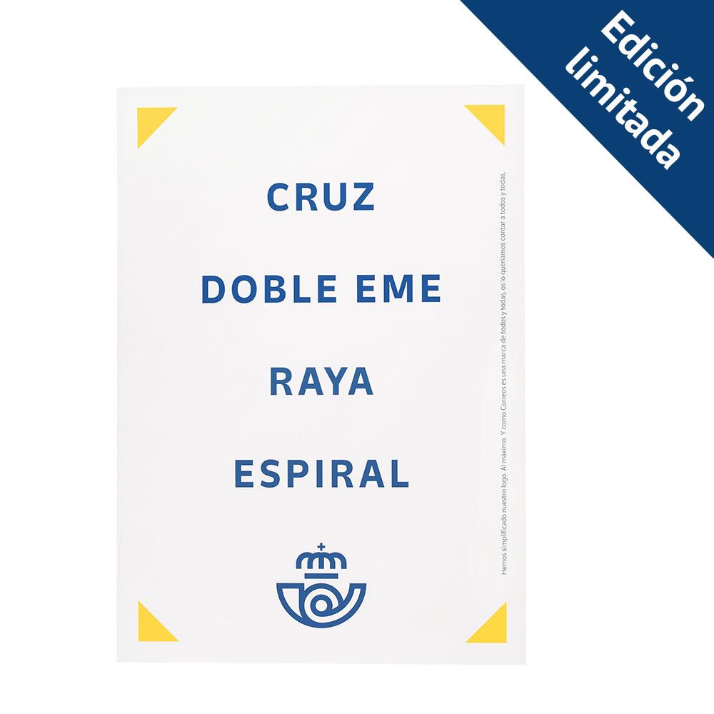 Pack sudadera + bolsa + póster Correos