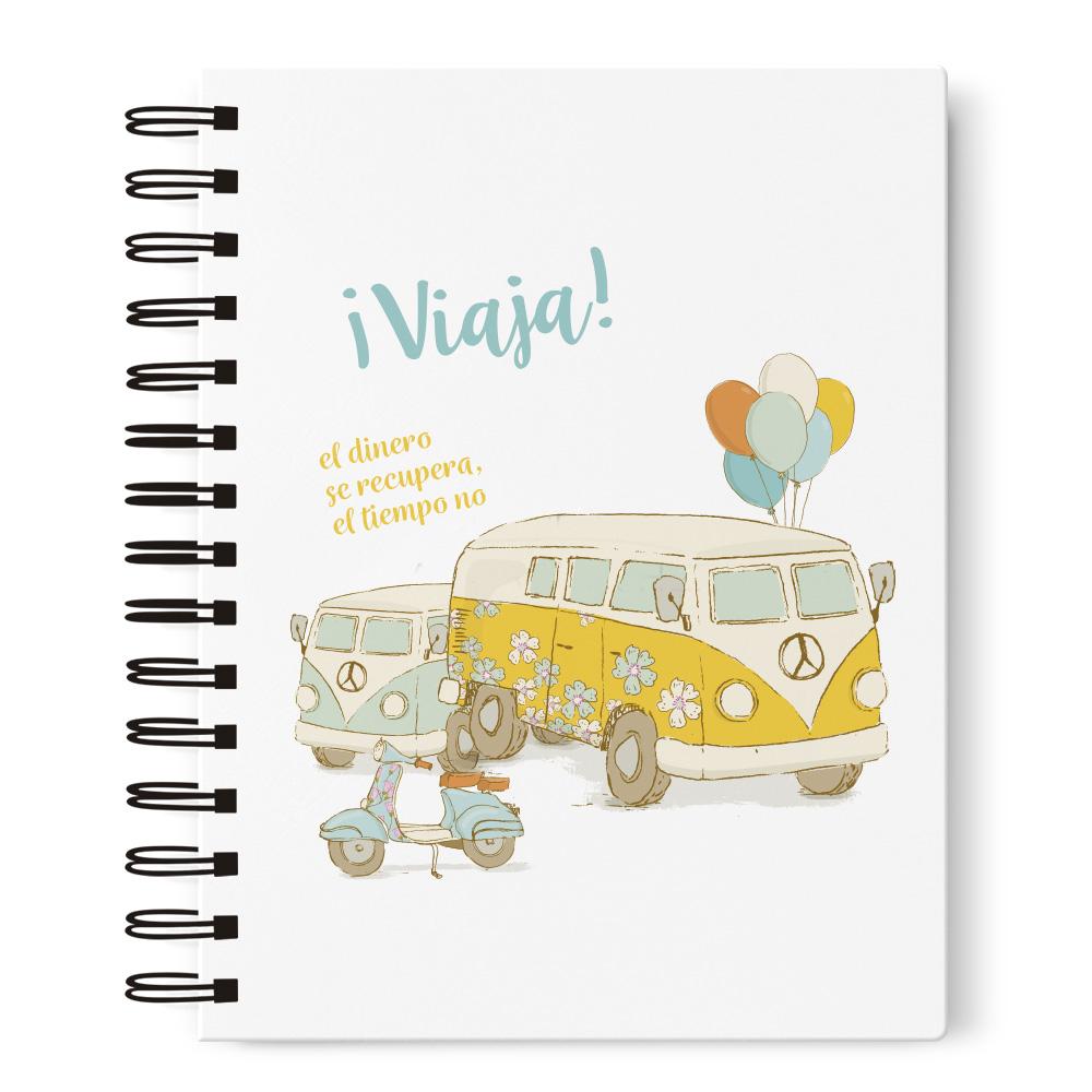 Cuaderno A5 furgoneta Prodis