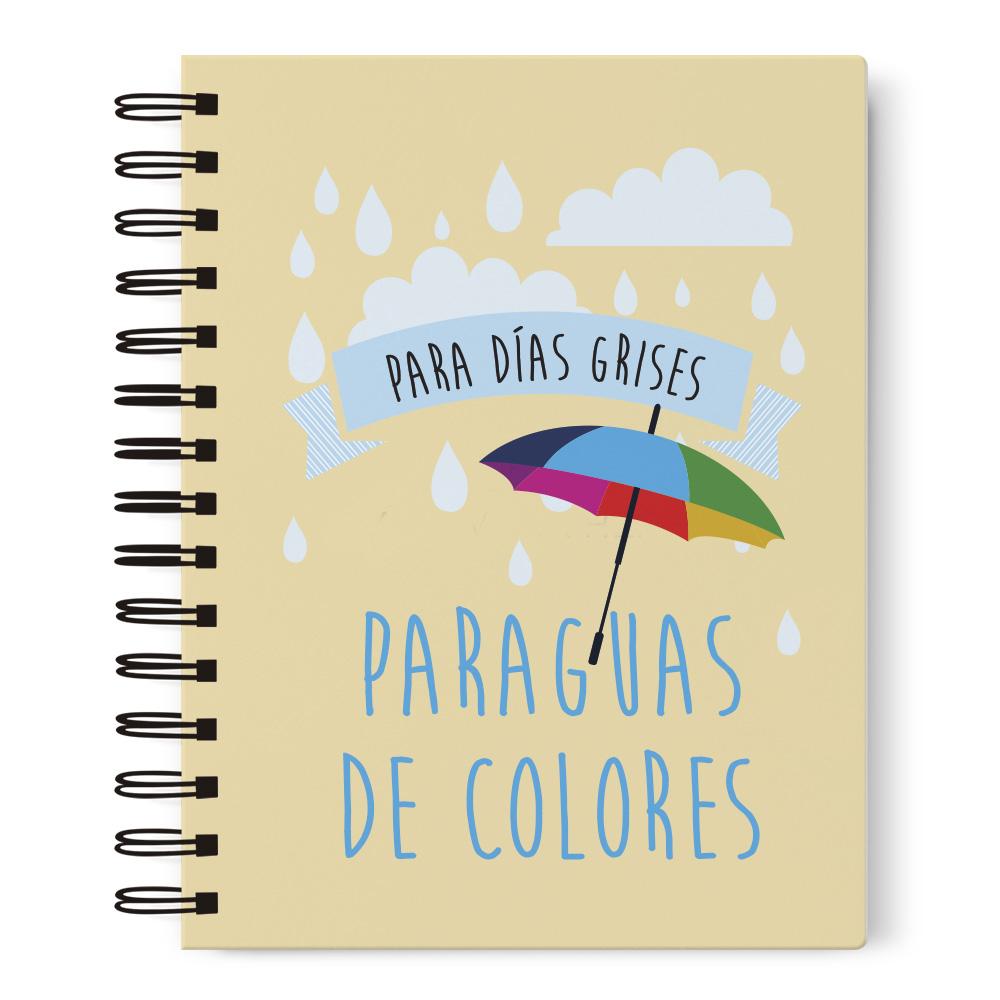 Cuaderno A5 paraguas Prodis