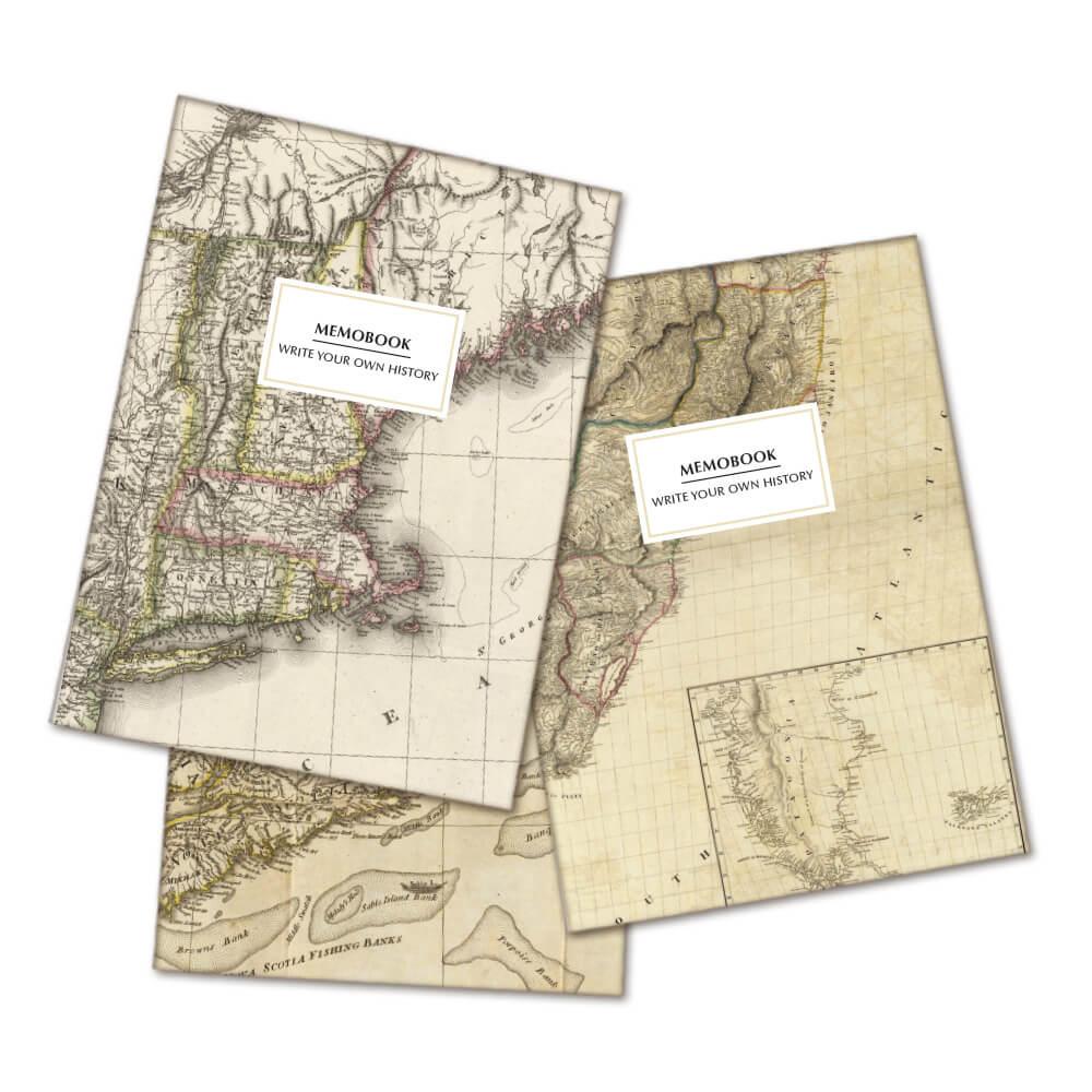 Pack 3 libretas con mapas Prodis