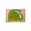 Tarjeta postal Dinosaur - Protest Stamps