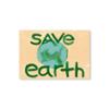 Tarjeta postal Save Earth - Protest Stamps
