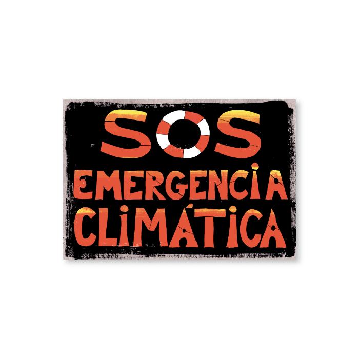 Tarjeta postal S.O.S. - Protest Stamps