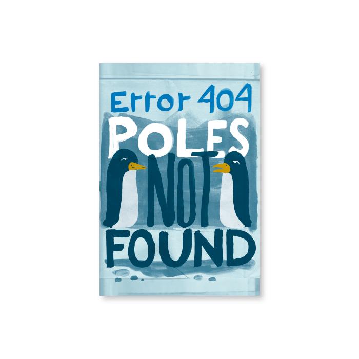 Tarjeta postal Error 404 - Protest Stamps