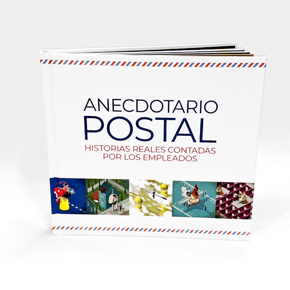 Libro anecdotario postal Correos