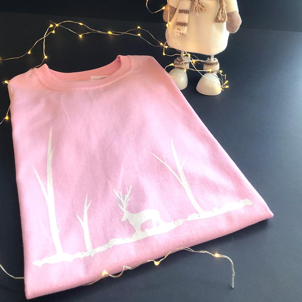 Camiseta infantil rosa Candela Riera