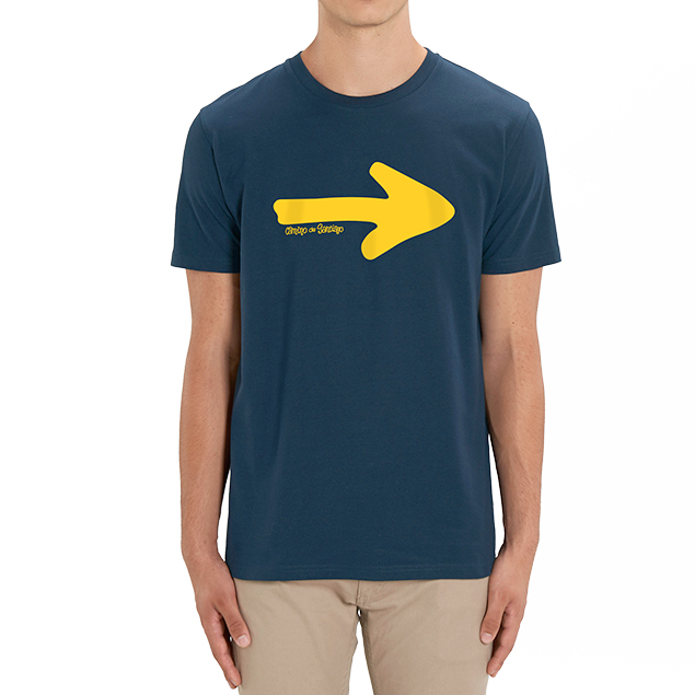 Camiseta flecha del Camino