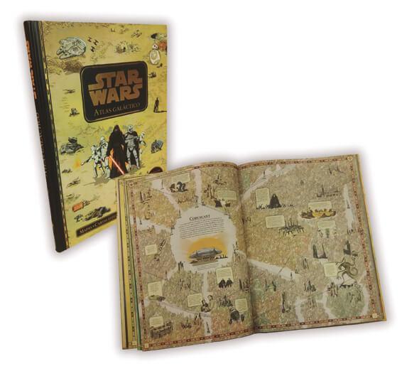 Libro Atlas Galáctico Star Wars