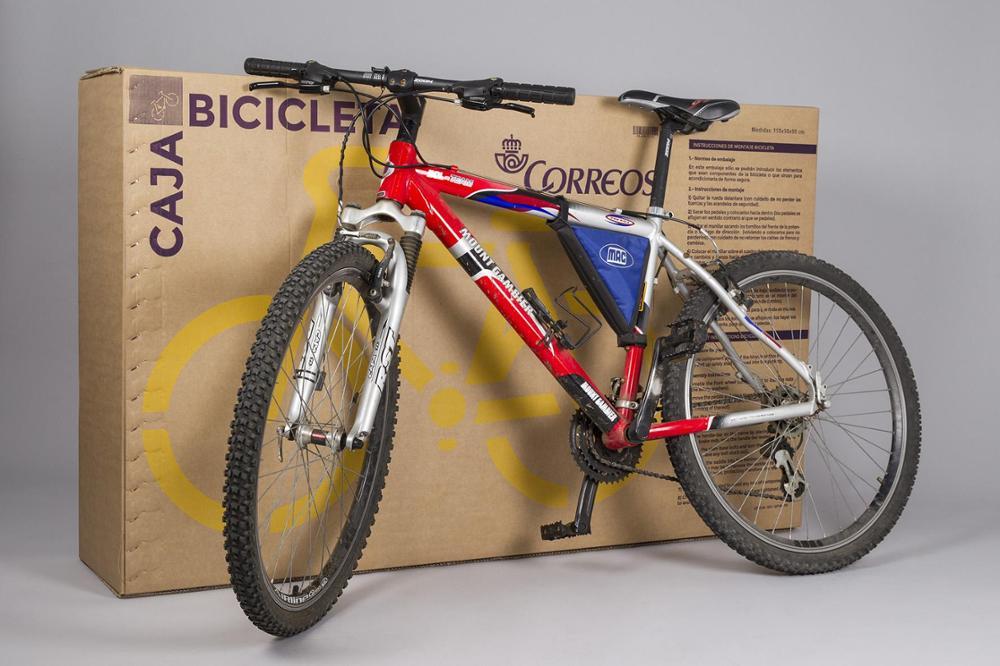 Caja bicicleta