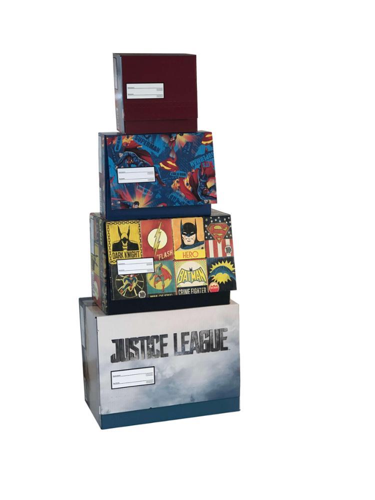 Caja mediana Superman