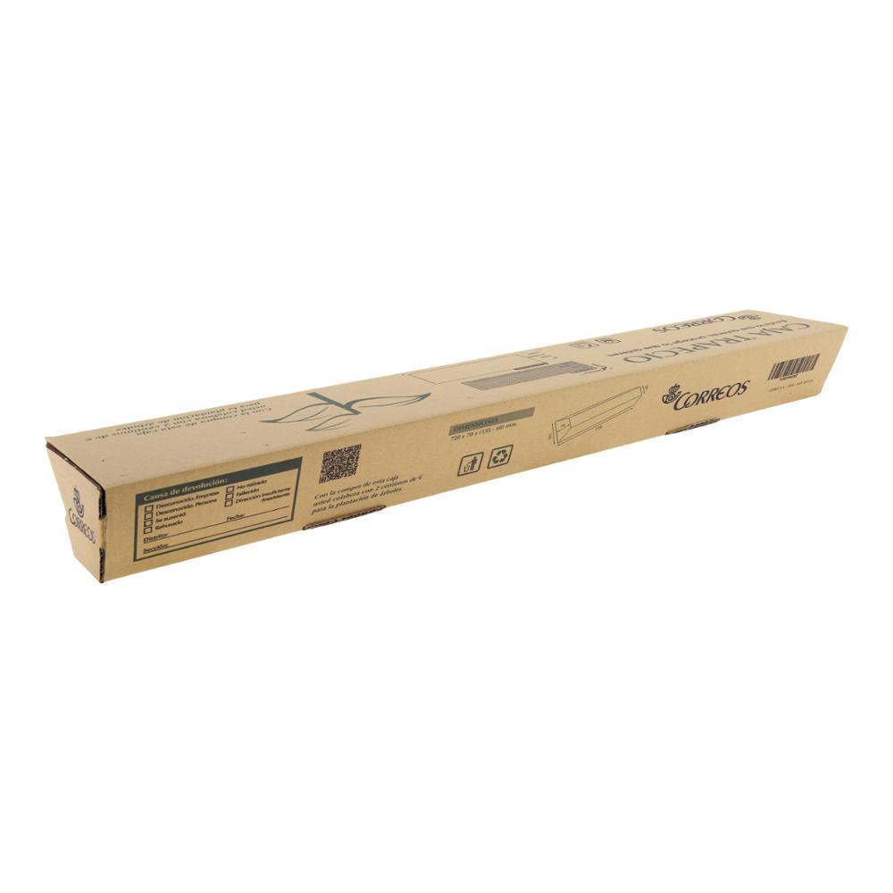 Caja de cartón trapecio