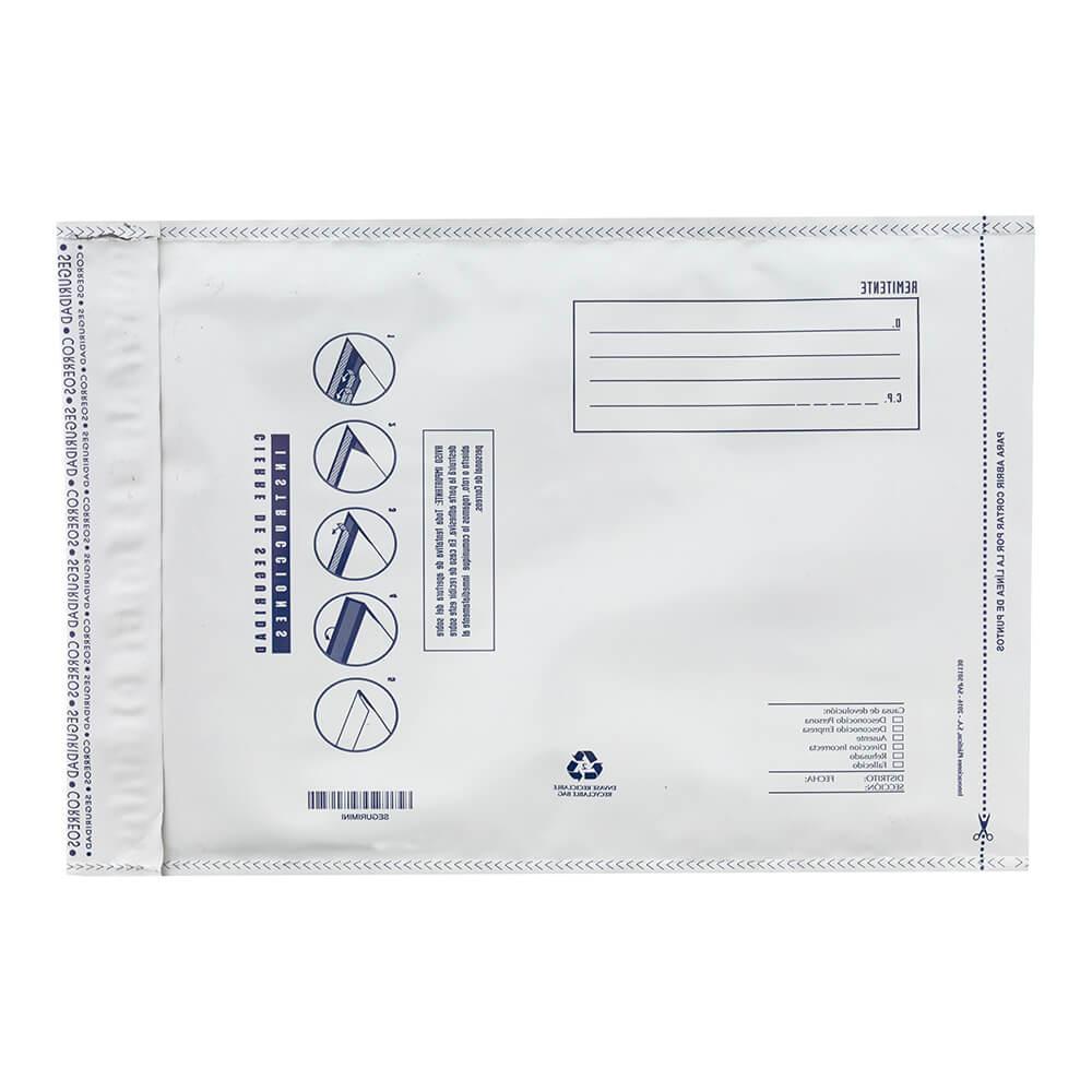 Pack 6 sobres de plástico acolchado mini