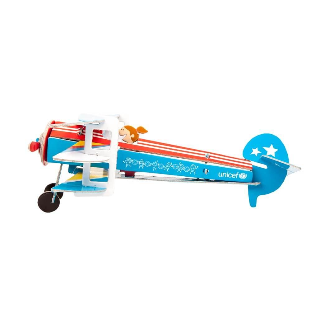 Puzzle 3D Happy Plane UNICEF