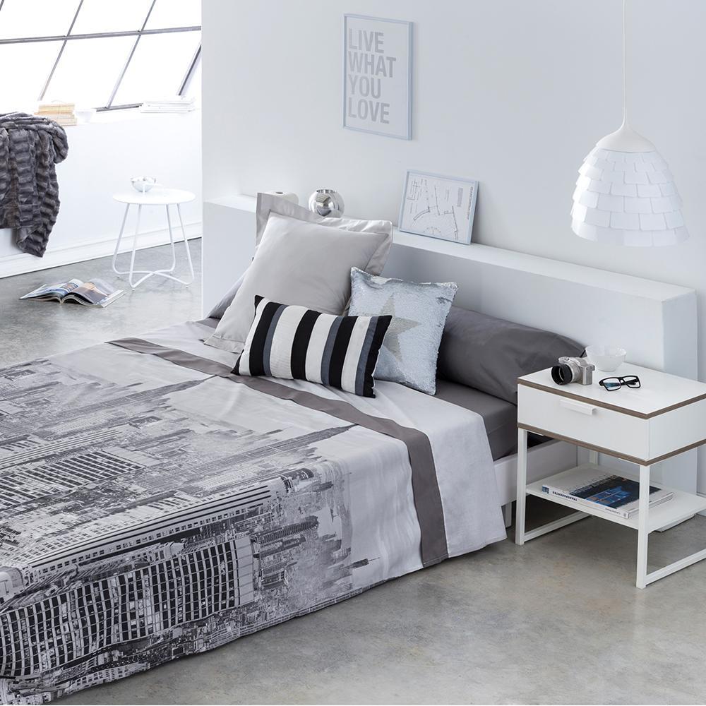 Juego de sábanas CITY LIFE cama de 135