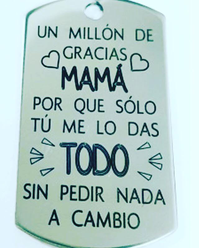 Colgante Mamá Gracias