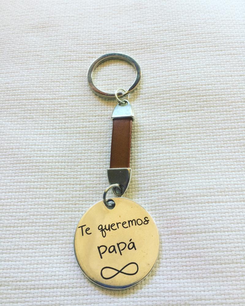 Llavero Papá Personalizado