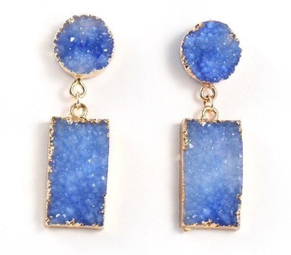 Pendientes Blue Stone