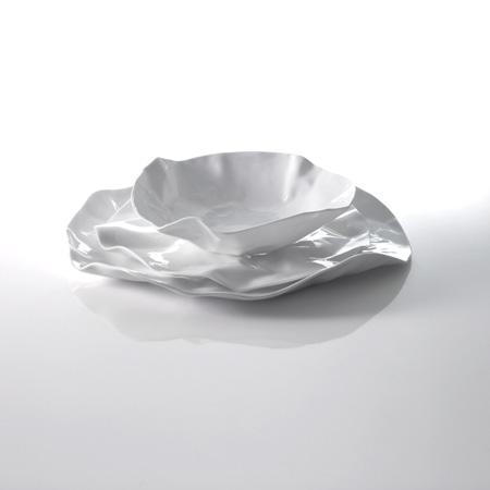 Set 2 platos porcelana