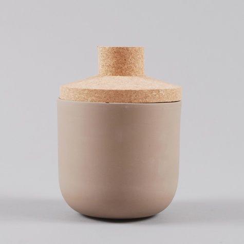 Tarro cerámica- corcho