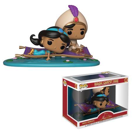 Aladdin y Jasmine en la alfombra magica